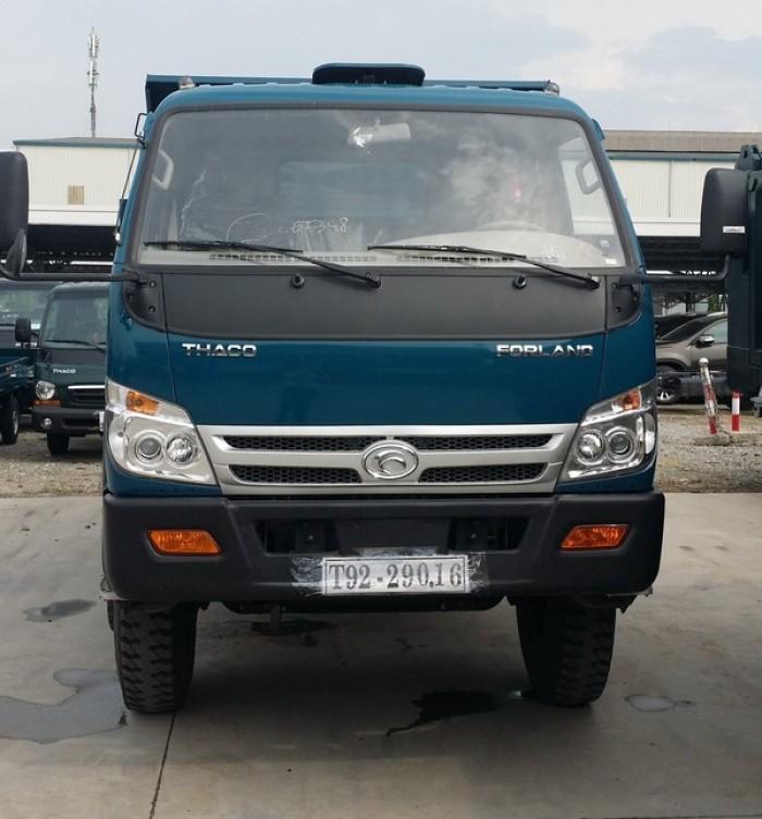 cần bán xe ben 2017 ga cơ tải trọng 5,6,8 tấn THACO FORLAND