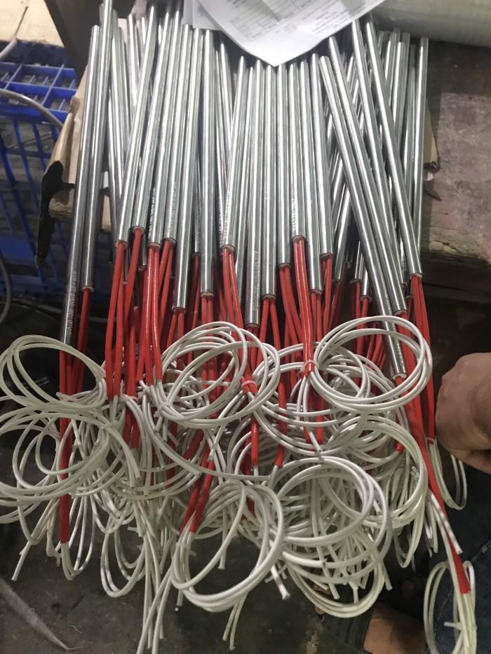 Điện trở khô 1 đầu Ø12 x 400 / 220V-600W0
