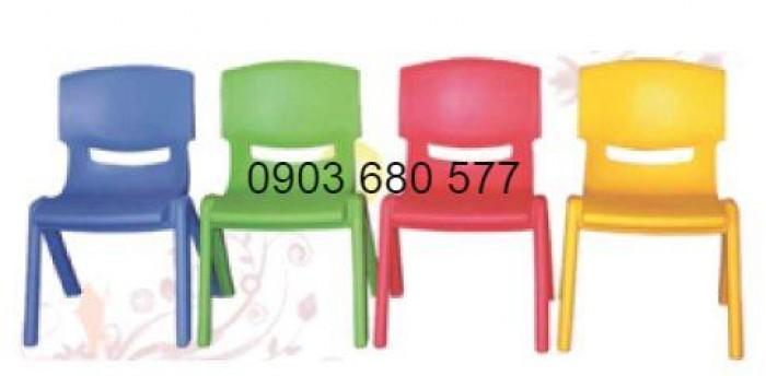 Bộ bàn ghế nhựa mầm non, gập chân bàn giá cực RẺ16
