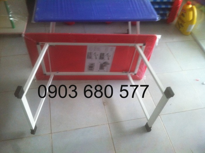 Bộ bàn ghế nhựa mầm non, gập chân bàn giá cực RẺ11