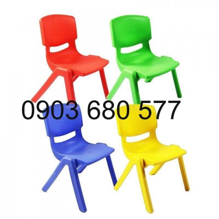 Bộ bàn ghế nhựa mầm non, gập chân bàn giá cực RẺ5