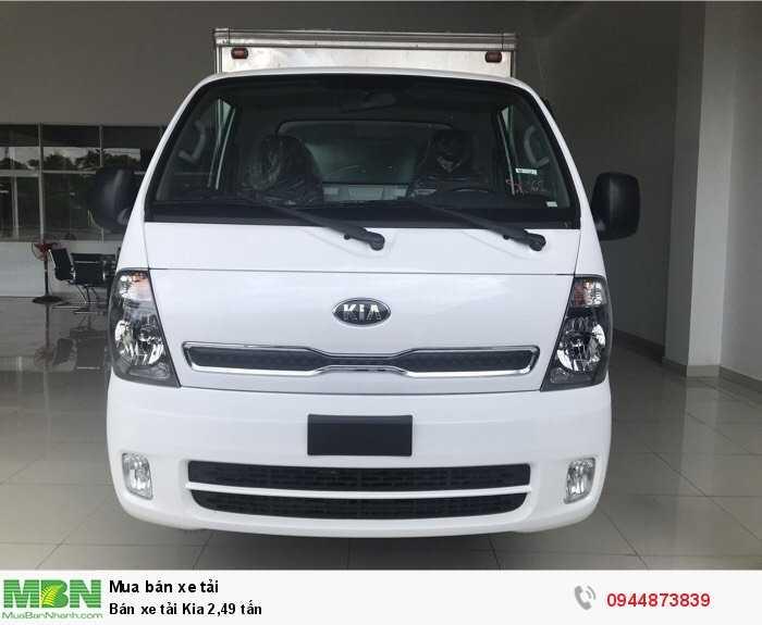 Bán xe tải Kia 2,49 tấn