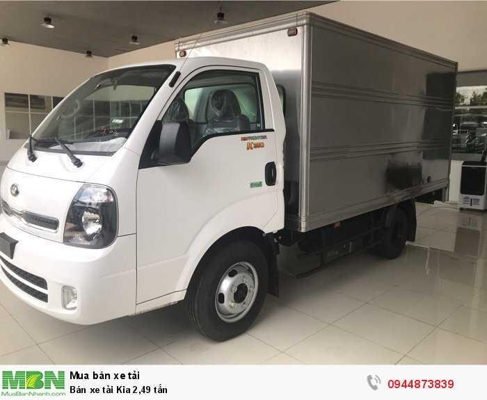 Bán xe tải Kia 2,49 tấn 3