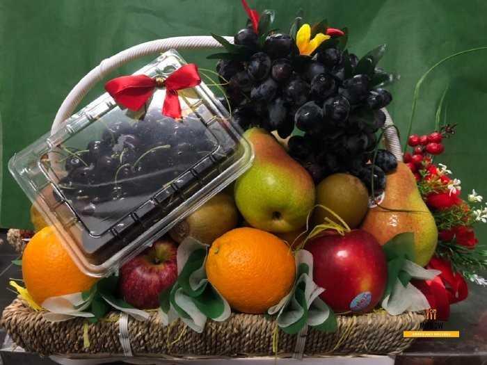 Lẵng trái cây đẹp từ MKNow.vn0