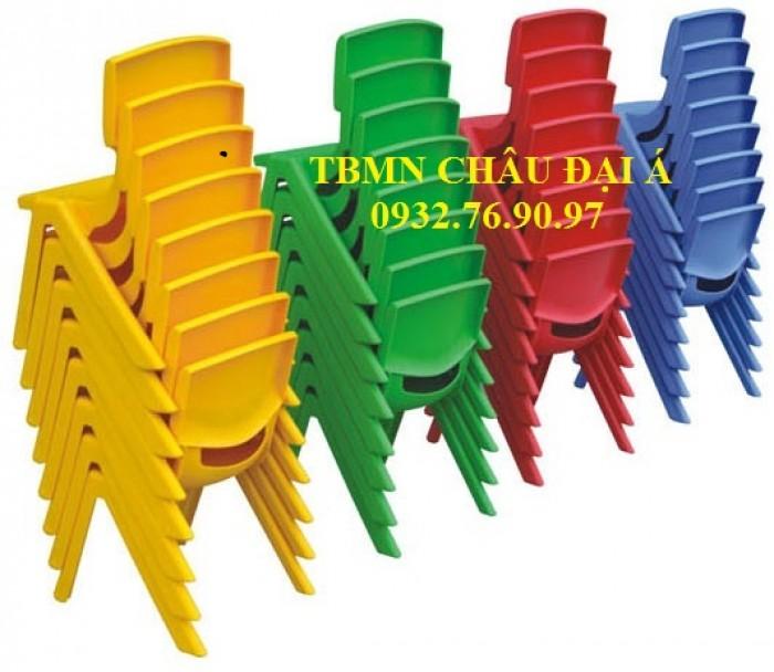 Bàn ghế mầm non Chuyên Sỉ Ghế Nhựa Nhập Khẩu4