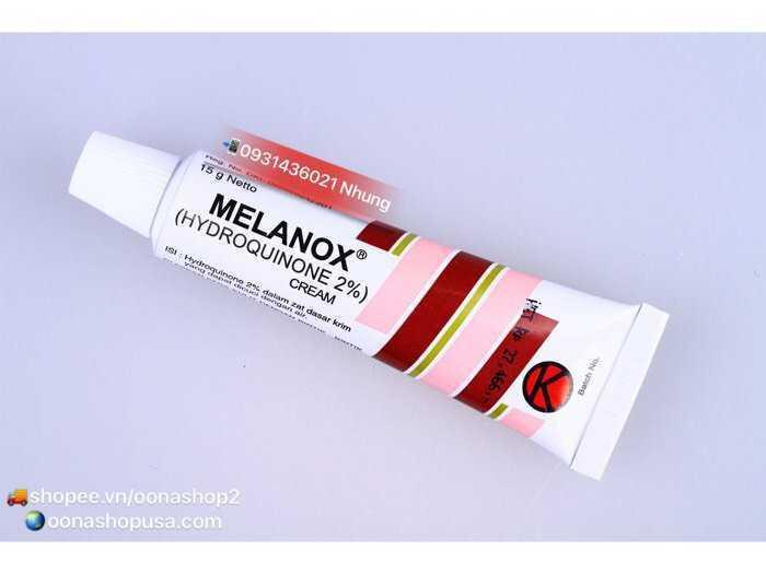 Kem Melanox Kem Hydroquinone 2% Trị Thâm/Nám/Tàn Nhang2