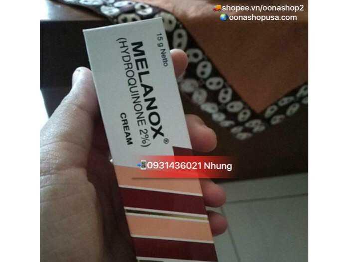 Kem Hydroquinone 2% Kem Melanox Trị Thâm/Nám/Tàn Nhang1