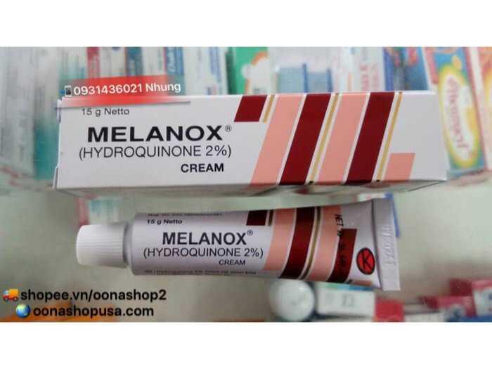 Kem Hydroquinone 2% Kem Melanox Trị Thâm/Nám/Tàn Nhang2