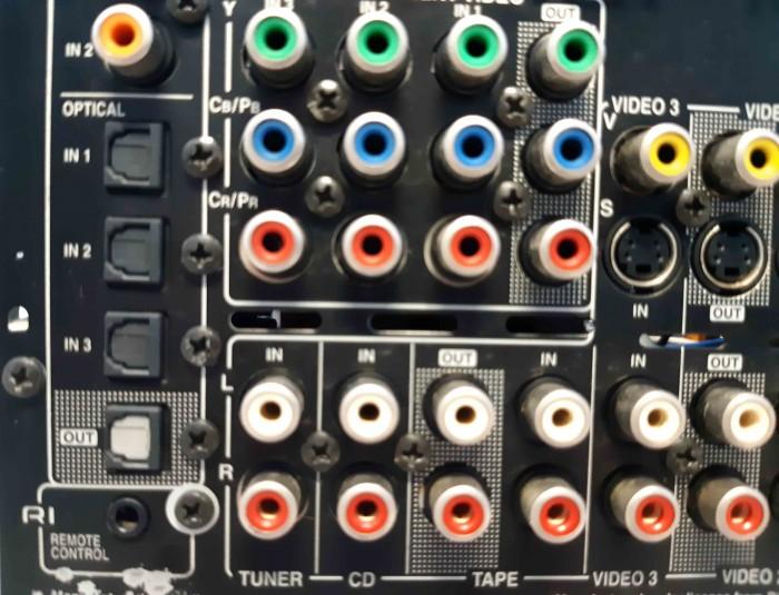 Ampli nội địa Nhật ONKYO TX SA 604 công suất khủng 450W14