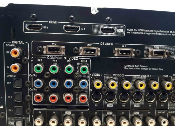 Ampli nội địa Nhật ONKYO TX SA 604 công suất khủng 450W13