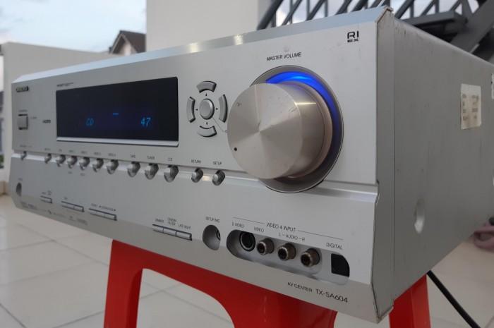 Ampli nội địa Nhật ONKYO TX SA 604 công suất khủng 450W1