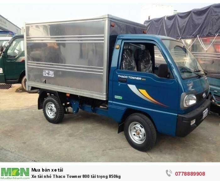 Xe tải nhỏ Thaco Towner 800 tải trọng 850kg 1