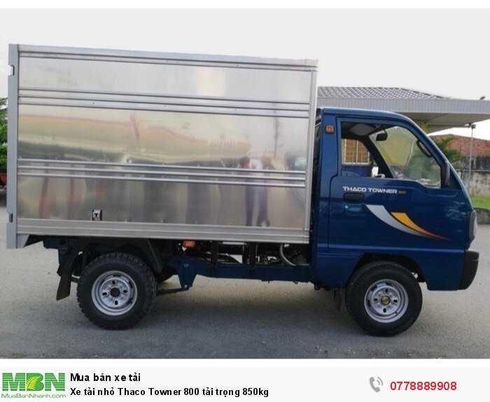 Xe tải nhỏ Thaco Towner 800 tải trọng 850kg 2