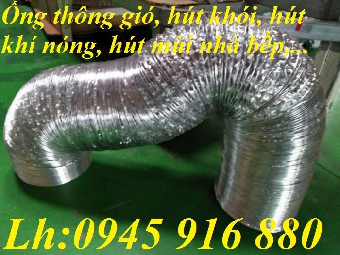 Ống sun bạc hút khói hút mùi nhà bếp D100, D125, D150, D175, D200, D250, D300, D350, D400, D450, D500 hàng cao cấp0