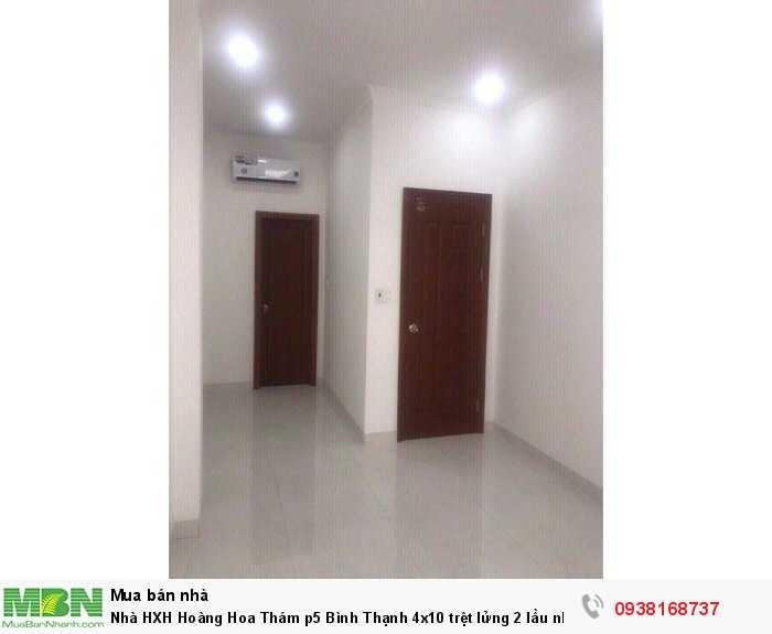 Nhà HXH Hoàng Hoa Thám p5 Bình Thạnh 4x10 trệt lửng 2 lầu nhà mới ở liền 4pn