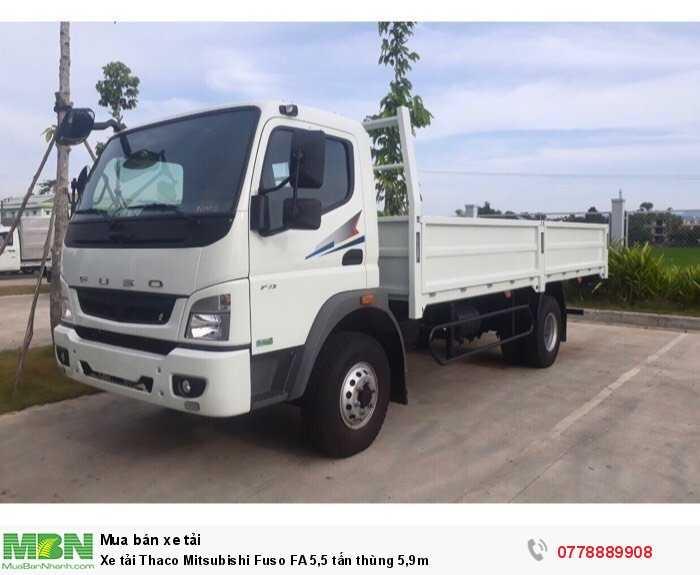 Xe tải Thaco Mitsubishi Fuso FA 5,5 tấn thùng 5,9m 2