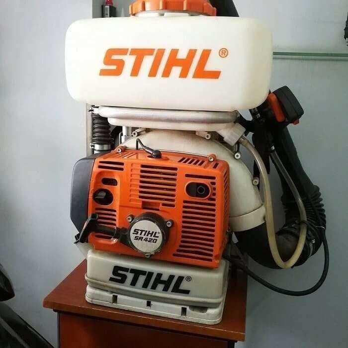 Máy phun thuốc STIHL SR-420 giá rẻ nhất thị trường2