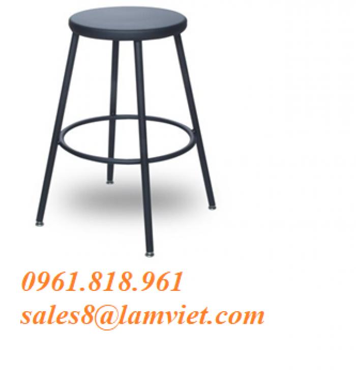 Ghế trang trí quán cafe - Sắt sơn tĩnh điện0