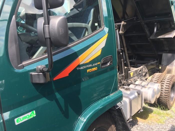 bán xe ben 3,5 tấn 3 khối hỗ trợ trả góp tại thaco Long An Tiền Giang Bến Tre 5