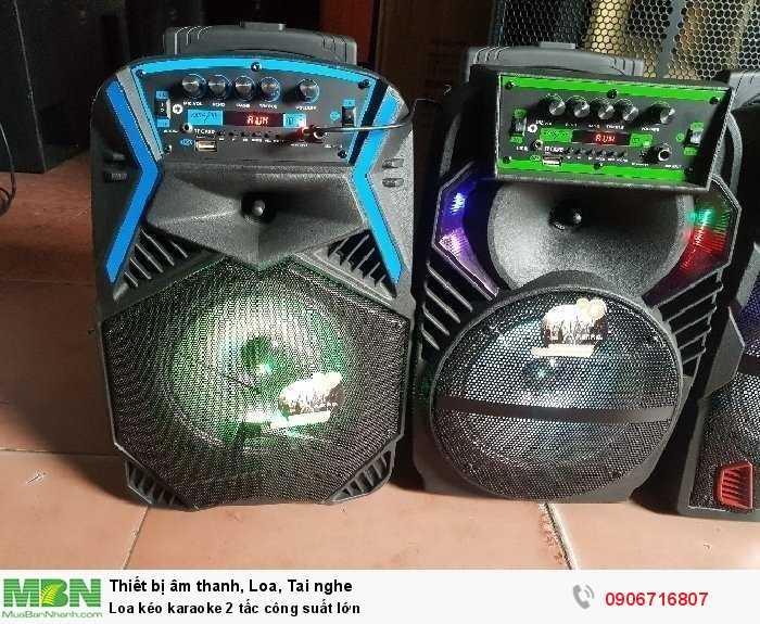 Loa kéo karaoke 2 tấc công suất lớn0