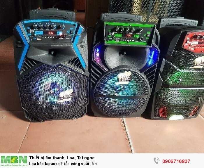 Loa kéo karaoke 2 tấc công suất lớn1
