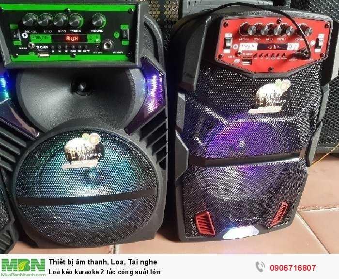 Loa kéo karaoke 2 tấc công suất lớn2