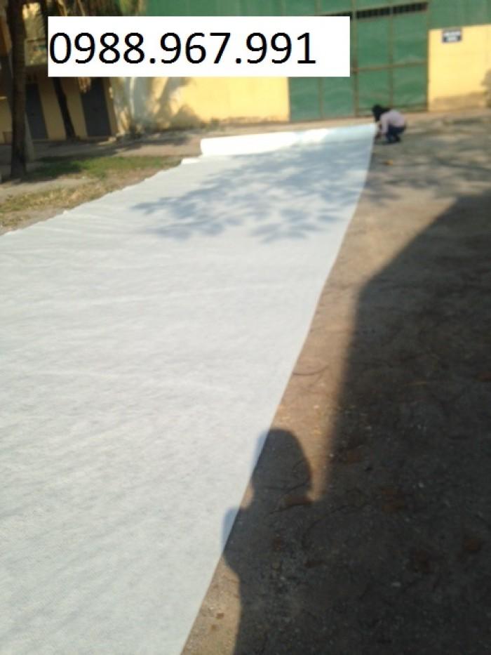 Vải địa kỹ thuật không dệt, vải địa kỹ thuật dệt, màng chống thấm HDPE1