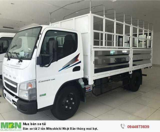 Bán xe tải 2 tấn Mitsubishi Nhật Bản thùng mui bạt.