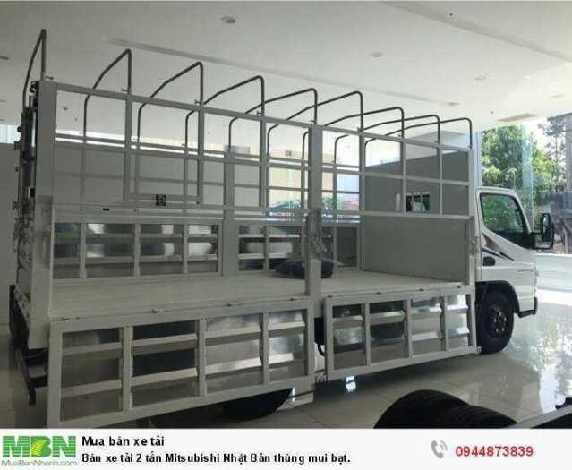 Bán xe tải 2 tấn Mitsubishi Nhật Bản thùng mui bạt. 3