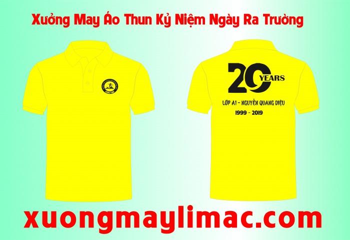 Mẫu áo thun kỷ niệm 20 năm ngày ra trường đẹp NHẤT 2019