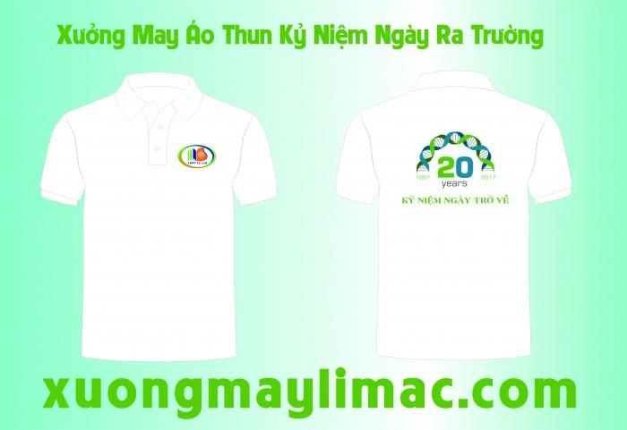 Chuyên may áo thun lớp kỷ niệm 20 năm giá rẽ