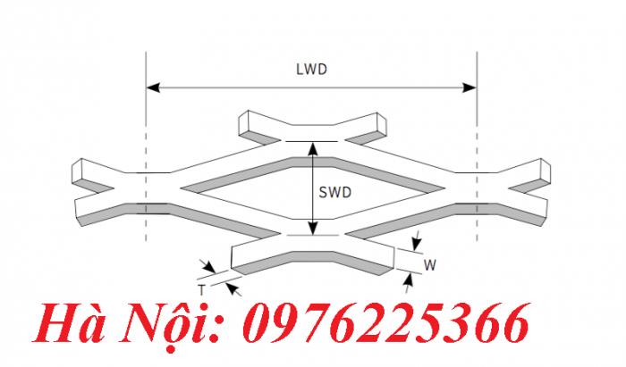 Lưới mắt cáo hình thoi, lưới thép XG 19,XG203