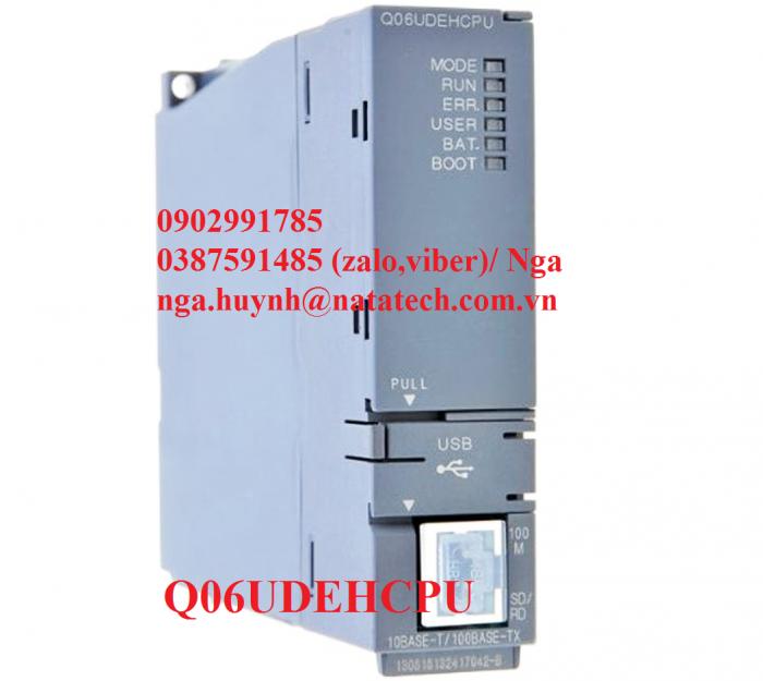 PLC Mitsubishi Q06UDEHCPU - Natatech