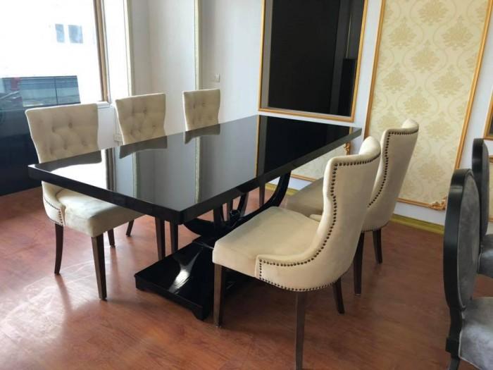 Bộ bàn ghế ăn sang trọng, hiện đại4