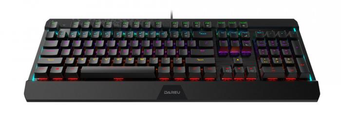 Bàn phím cơ DareU EK169 Gaming Led chính hãng1