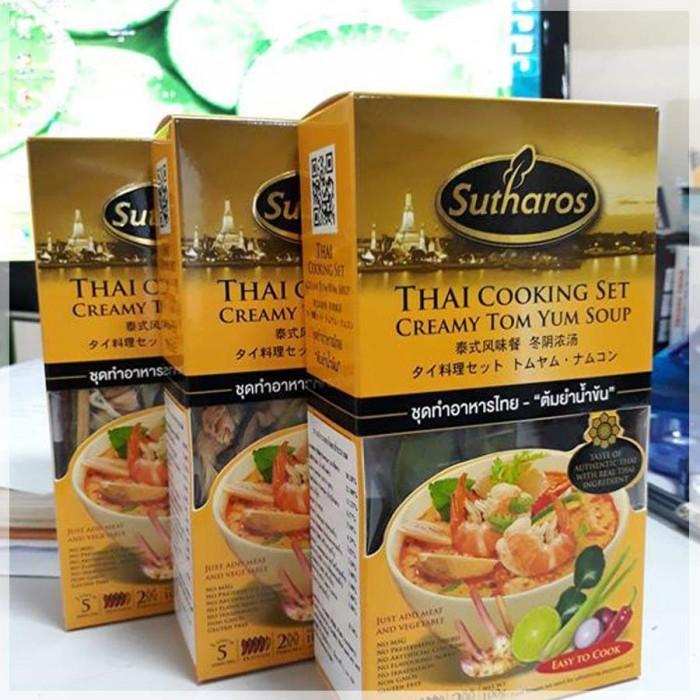Gia vị Creamy Tom Yum Sutharos (Hộp)3