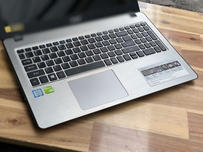 Laptop Acer F5-573G, i5 7200U 4G SSD128 Full HD GT940MX đèn phím 8hm1