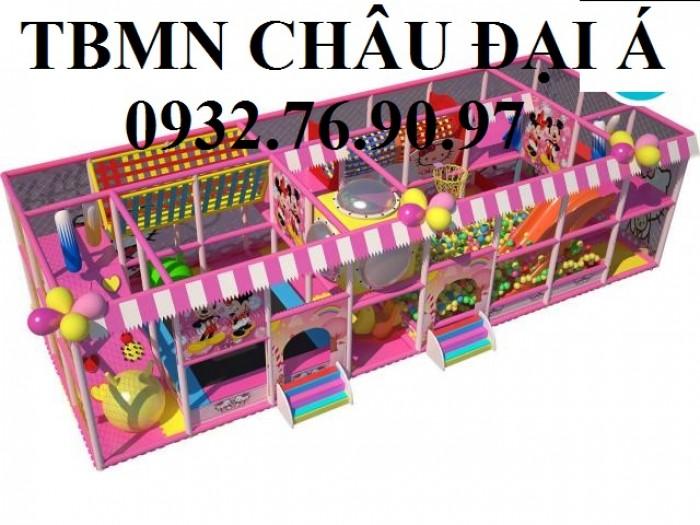 Chuyên thi công thiết kế khu vui chơi liên hoàn cho trẻ em2