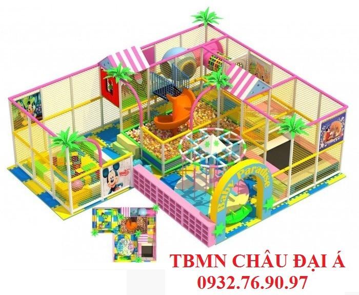 Chuyên thi công thiết kế khu vui chơi liên hoàn cho trẻ em1