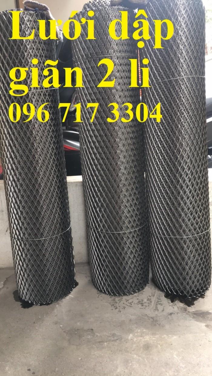Lưới thép dập giãn 1mm, 2mm, 3mm,... giá rẻ3