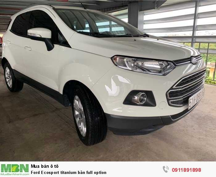 Ford Ecosport titanium bản full option