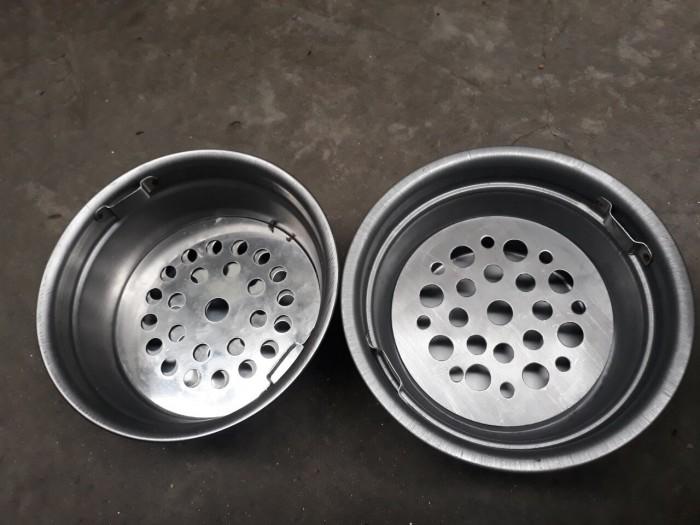 Bầu than inox bếp nướng hút âm bàn hút dương bàn chuyên dùng cho quán nướng lẩu1