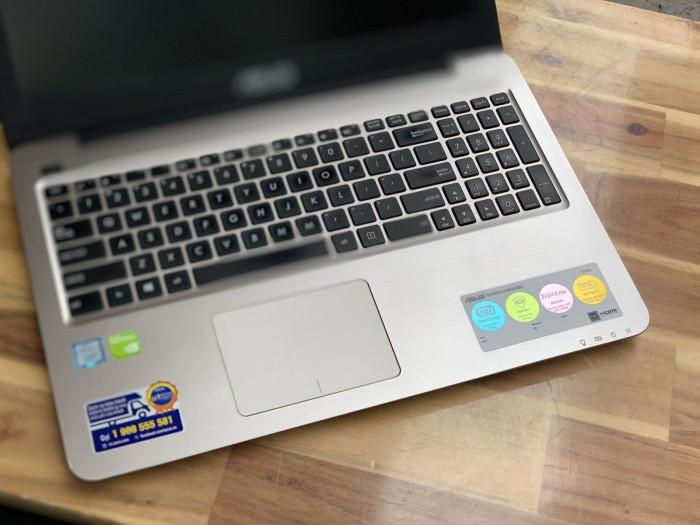 Laptop Asus A556UR, I5 6200U 4G 500G Vga GT930MX Đẹp zinmm2