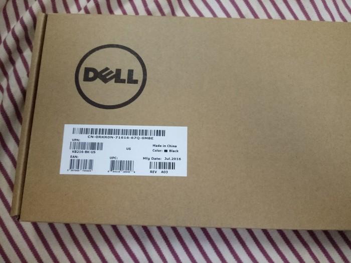 Combo Bàn phím Dell và chuột có dây - Hàng xịn nhập Mỹ, phím bấm êm6