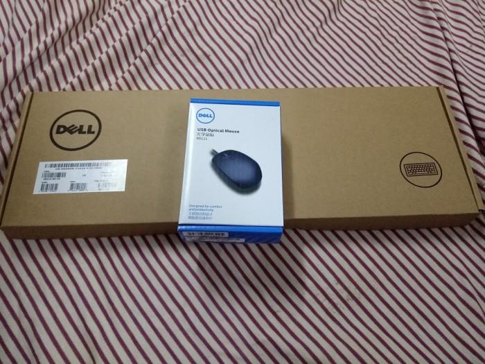 Combo Bàn phím Dell và chuột có dây - Hàng xịn nhập Mỹ, phím bấm êm5