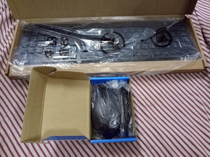 Combo Bàn phím Dell và chuột có dây - Hàng xịn nhập Mỹ, phím bấm êm1