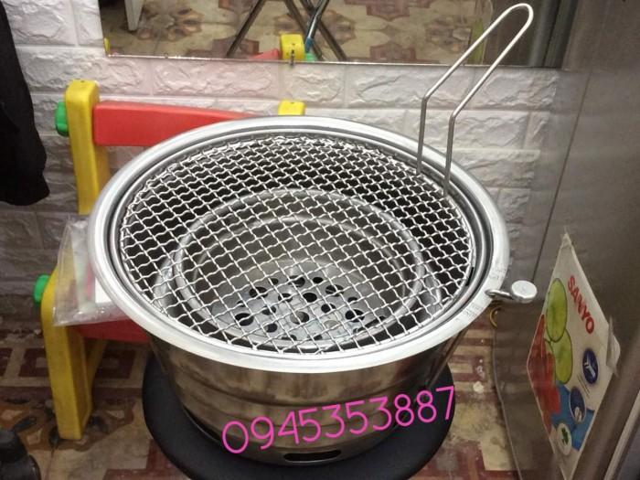 Bếp nướng âm bàn không khói hàn quốc hút dương có lắp đậy cho quán nướng lẩu2