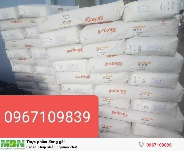 Cacao nhập khẩu nguyên chất0