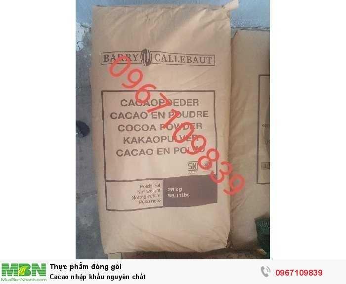 Cacao nhập khẩu nguyên chất2