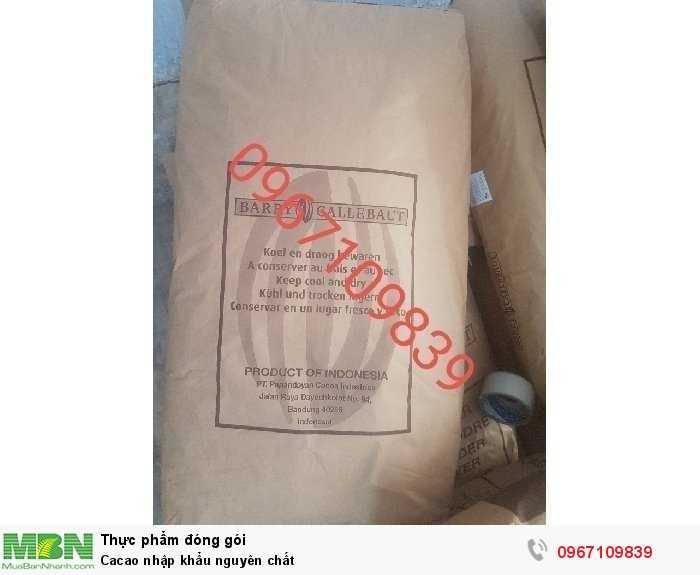 Cacao nhập khẩu nguyên chất3